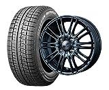 スタッドレスタイヤ155/65R14・ホイール 1本セット 14インチ BRIDGESTONE(ブリジストン) BLIZZAK REVO GZ+Weds(ウエッズ)[N BOX・タント・デイズ等]