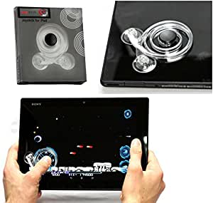 Navitech London 全タブレット用ゲームパッドAsus MeMo Pad 7/Apple iPad Air 2/Asus MeMo Pad HD 7/Sony Xperia Tablet Z3 Compact/Dell Venue 8/Lenovo Miix 2 8/samsung galaxy tab s 8.4/ASUS TransBook T100TA/Asus MeMo Pad 8/Google Nexus 9/Huwaei MediaPad M1 8.0/samsung galaxy tab s 10.5/LaVie Tab S/Arrows Tab F-03G (Sony Xperia Tablet Z3 Compact)