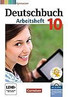 Deutschbuch Gymnasium 10. Schuljahr - Allgemeine Ausgabe - Arbeitsheft mit Loesungen und Uebungs-CD-ROM (Telord 1403)