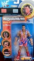 WWF Wrestle Mania XVII Series 9 Kurt Angle by Jakks Pacific 1998