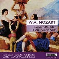 Mozart: Quintets K 452 K 407 & Quartet K 370