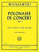 WIENIAWSKI - Polonesa de Concierto Op.4 nコ 1 en Re Mayor para Violin y Piano (Francescatti)