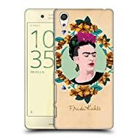 Official Frida Kahlo パープル ポートレイト ハードバックケース Sony Xperia X/X Dual