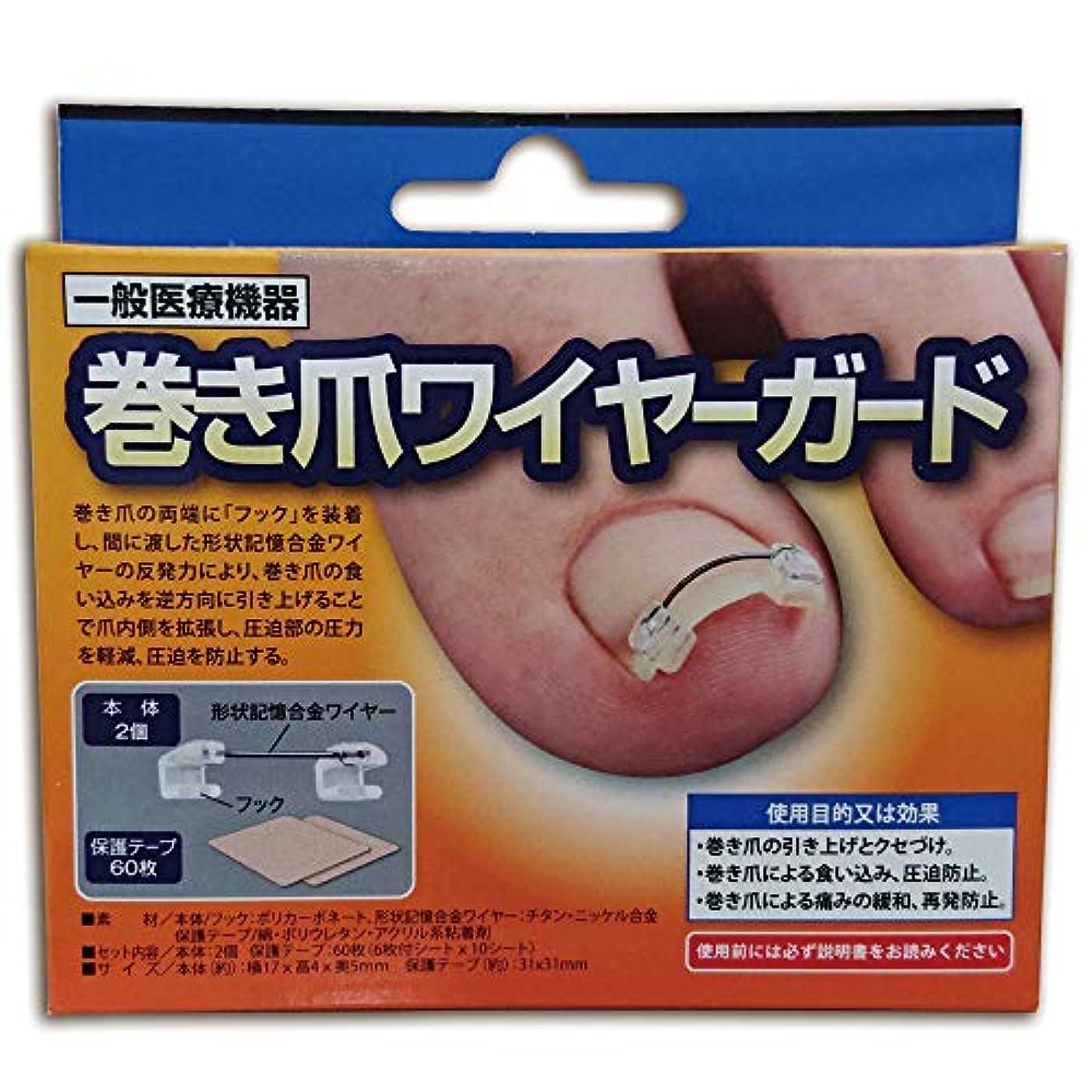 トラブルダニとてもサイプラス 一般医療機器 巻き爪ワイヤーガード