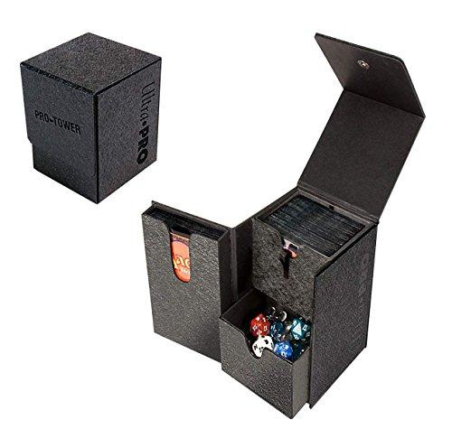 ウルトラ・プロ プロ仕様 タワー型 デッキ ボックス 黒 Ultra・PRO PRO-TOWER DECK BOX BLACK