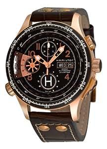 [ハミルトン]HAMILTON 腕時計 KHAKI X-COPTER ピンクゴールド メンズ H76646533 メンズ[正規輸入品]