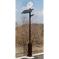 【EYT-240KG】ソーラーLED 外灯・街灯・防犯灯 GPSタイマー制御搭載 電波時計付き 日亜製LED96個使用