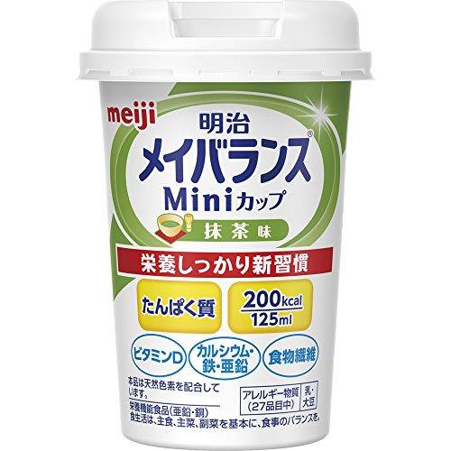 メイバランス Miniカップ 抹茶味 125ml×24本