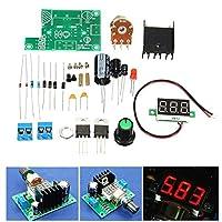 Lm317デジタル表示調整可能な安定化電源ボードモジュールdiyキット