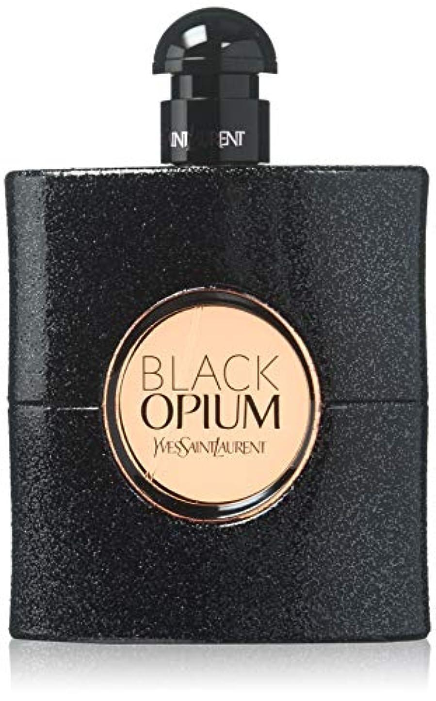 レイアウトブームラフ睡眠【イヴサンローラン】ブラック オピウム (テスター) EDP?SP 90ml [並行輸入品]