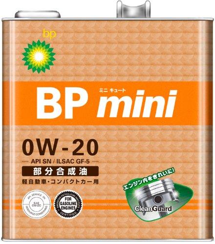 ミニ 部分合成油 0W-20 3L