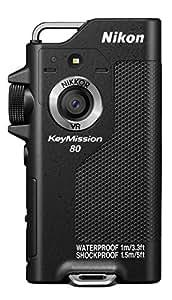 Nikon 防水ウェアラブルカメラ KeyMission 80 BK ブラック