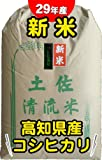 29年産 高知県産コシヒカリ 27kg【白米】