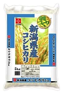 【精米】新潟県産 白米 コシヒカリ5kg 平成29年産