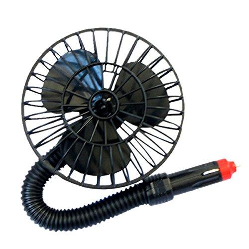 STARDUST 車載扇風機 フレキシブルアーム 簡単使用 ...