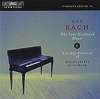 C・P・Eバッハ:鍵盤作品集 第6集