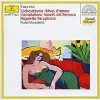 Rigoletto Paraphrase / Consolations Nos. 1-6 by DANIEL BARENBOIM (2008-08-19)