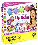 Creativity for Kids Make Your Own Lip Balm Kit Makes 5 Lip Balms Includes Customizable Containers and Handy Carrying Case Ages 7 and Up [並行輸入品]