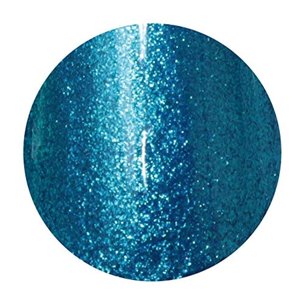 長さフレア解説T-GEL COLLECTION ティージェル カラージェル D217 メタルブルーEX 4ml