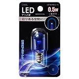 LEDナツメ球 クリア カラー 青色 0.5W LDT1B-H-E12 11C LDT1B-H-E12 11C