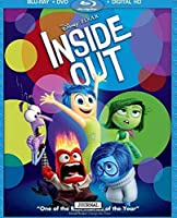 Journal: Inside Out Riley Andersen Her emotions, Joy, Sadness, Anger, Disgust, and Fear Glossy Cover Writing Workbook for Teens & Children, Man, Boys Kids Adults Elementary, Journal Paper 7.5 x 9.25 Inches 110 Pages