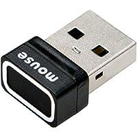 【英語版】mouse USB指紋認証リーダー Windows Hello 機能対応 FP01-A