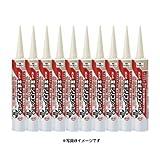 コニシ ボンド 変成シリコンシーラント(変成シリコン樹脂系) ブラック 黒 10本