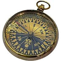 NauticalアンティークコンパスレプリカポケットBrasspocket腕時計コンパス真鍮アンティーク