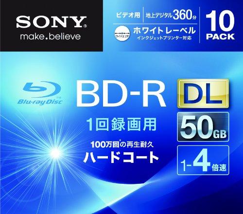 SONY ビデオ用BD-R 追記型 片面2層50GB 4倍速...