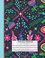 "Primary Notebook Grade K-2 Story Journal: Flower Edition, Draw and Write, Dashed Midline Creative Picture Notebook, Early Childhood, Kindergarten (120 Pages,8,5 x 11"") (Kids)"