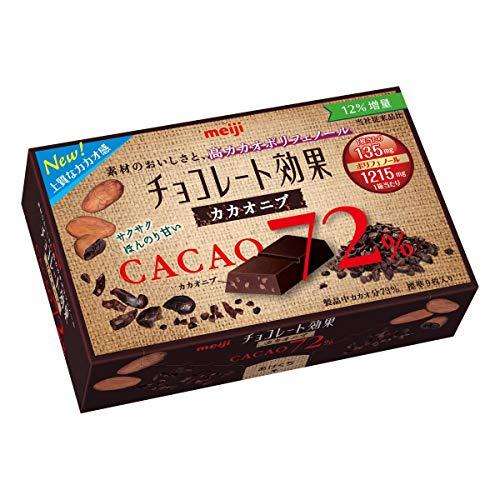 チョコレート効果 72%カカオニブ 45g