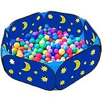 Eggsnow 子供ボールプール おもちゃ箱 六角形 折りたたみ式 室内と室外用