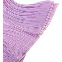 Baosity ドール用  DIY ウィッグ ヴェルフ フリンジ ヘア 綺麗 かつら 15x100cm 1/3 1/4 BJD SD人形対応 19色選べる - パープル、ピンク