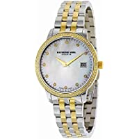 Raymond Weil Women's 'Toccata' Quartz Stainless Steel Dress Watch, Color:Two Tone (Model: 5388-SPS-97081)