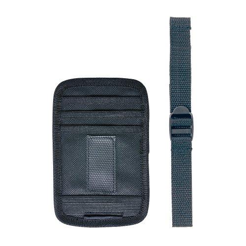 カーメイト 車用 収納 バイザー用ポケット スマホタッチ 収納 ブラック CZ359