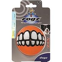 "Kong Rogz Asteroids Grinz Soft Float Fun Fetching Treat Ball Dog Toy Large 3"""