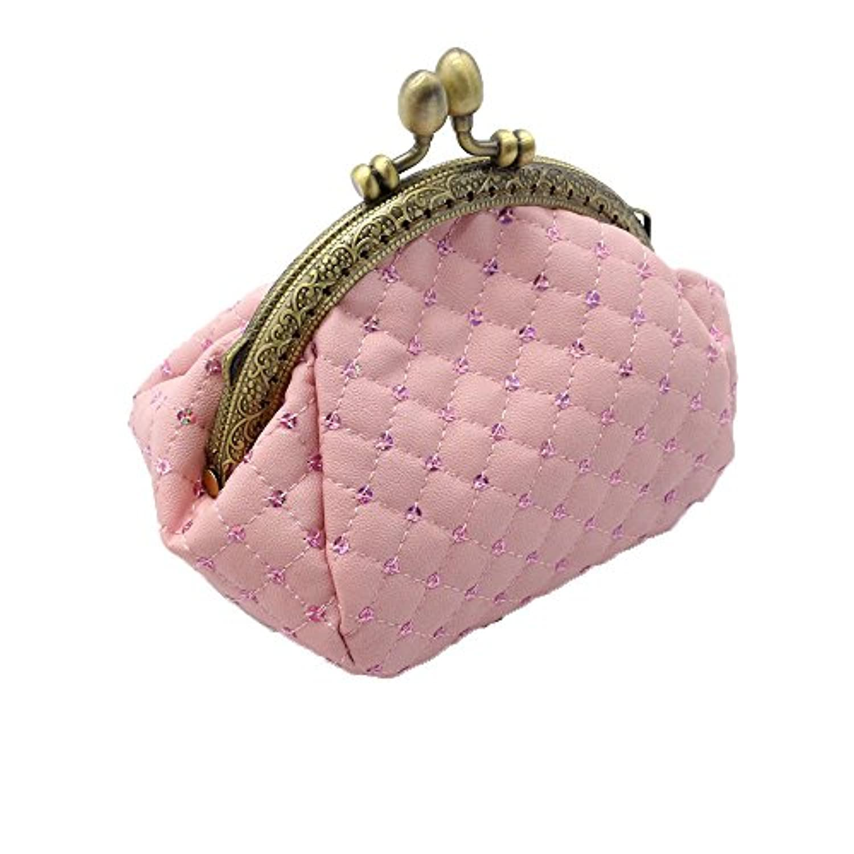 [ペプ] PEPU がま口 財布 レディース 使いやすい 小銭入れ 可愛い スパンコール レトロ調