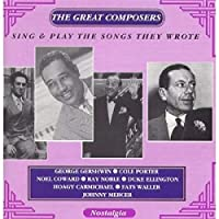 Great Composers Sing & Play Their Songs