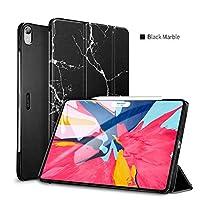 <国内正規品> 【 iPad Pro 11inch 2018モデル】ウルトラスリム Smart Folio Case Magnetic オートスリープ、スタンド付き (ES15999-M(ブラックマーブル))