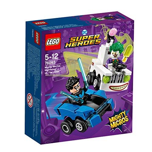 レゴ(LEGO) スーパー・ヒーローズ マイティマイクロ  : ナイトウィング vs. ジョーカー 76093