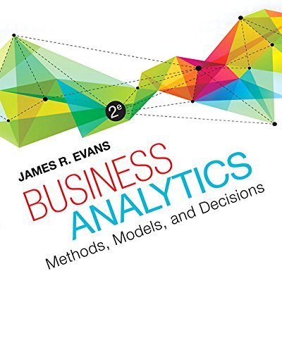Download Business Analytics (2nd Edition) 0321997824