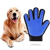 New Sogood ペット ブラシ 手袋型 グローブ 犬と猫に使える お手入れ 毛とり ペット用ブラシ (右手)