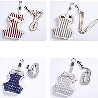 ペットリーシュ - ファッション絶妙な弓の綿の厚い快適で耐久性のある抗失われたベストのトラクションロープ (色 : B)