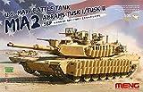 モンモデル 1/35 アメリカ主力戦車 M1A2 SEP TUSK I/TUSK II MENTS-026