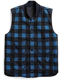 (ダブルアールエル ラルフローレン) RRL Ralph Lauren 《 バッファロー チェック リバーシブル アウター ベスト : Reversible Vest 》 [並行輸入品]