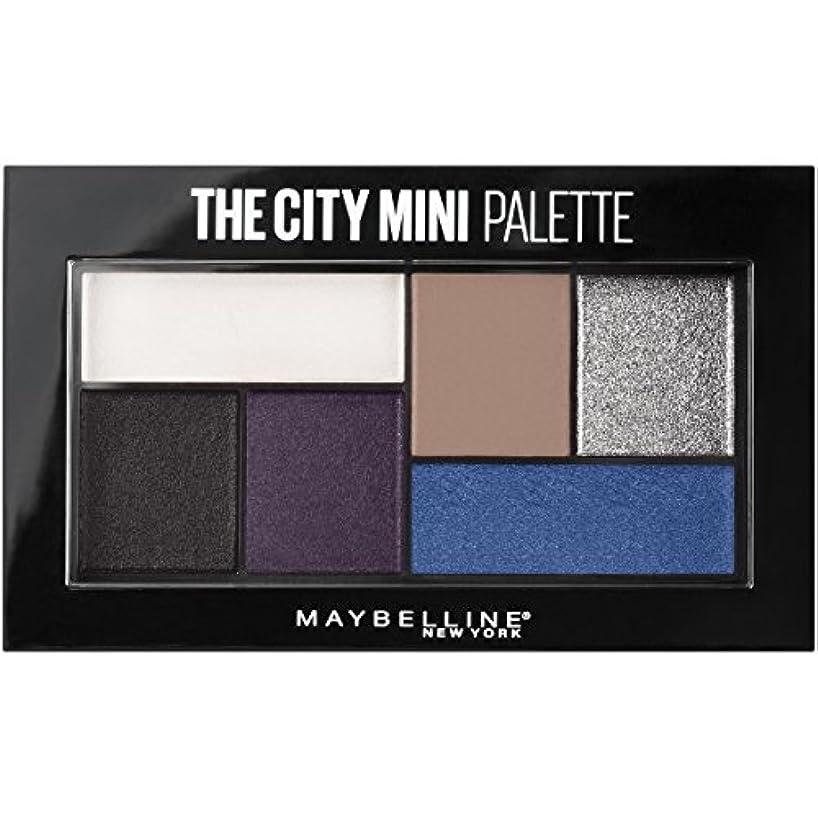 スキッパー心配するヘビーMAYBELLINE The City Mini Palette - Concrete Runway (並行輸入品)