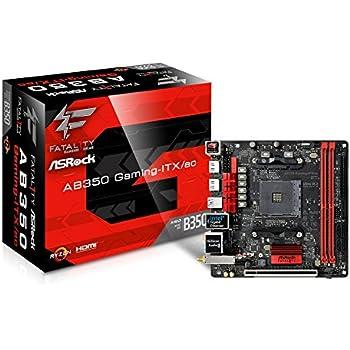 ASRock AMD B350チップセット搭載 Mini-ITX マザーボード AB350 Gaming-ITX/ac