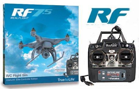 フライトシミュレーター リアルフライト7.5 REAL FLIGHT7.5 モード1/右スロットル 00107076