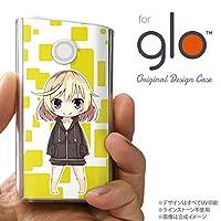glo グローケース カバー グロー キャラ2-A 黄 nk-glo-1336