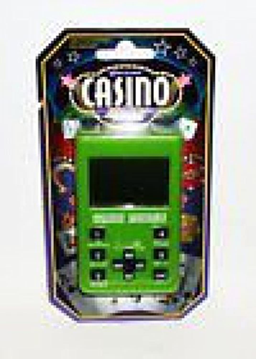 [Greenbrier]Greenbrier Hand Held Electronic Casino Poker Game Assorted Colors 4493674 [並行輸入品]